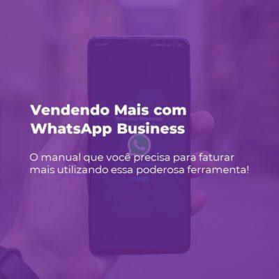 E-book Vendendo Mais com WhatsApp Business